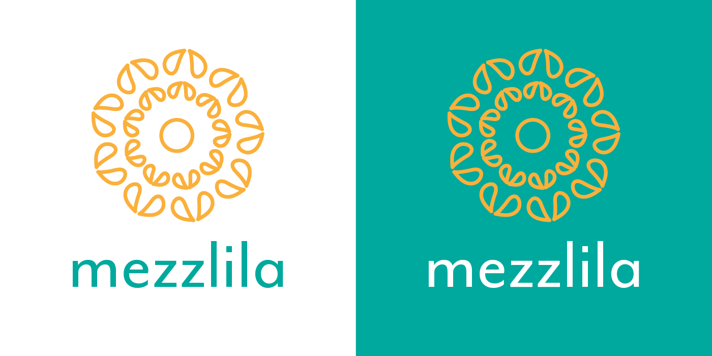 mezzlila logo light and dark