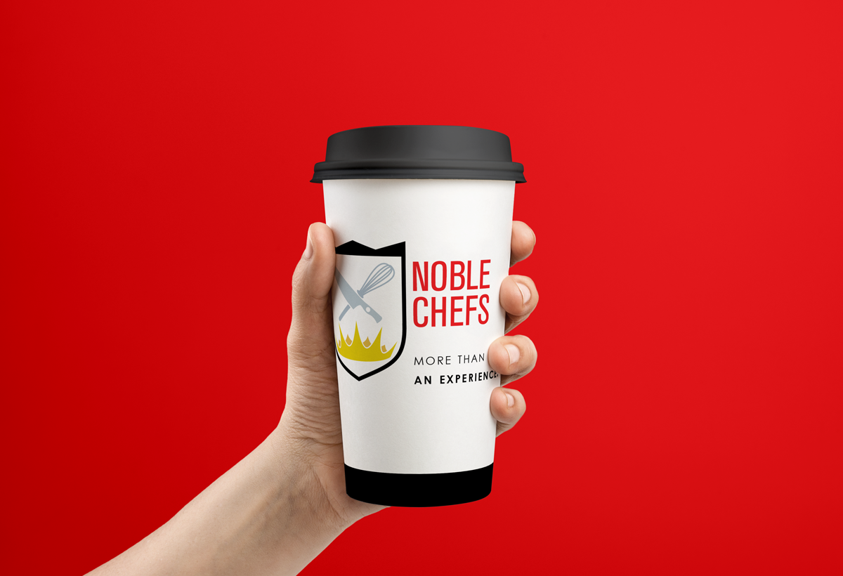 noble chefs coffee and tea cup