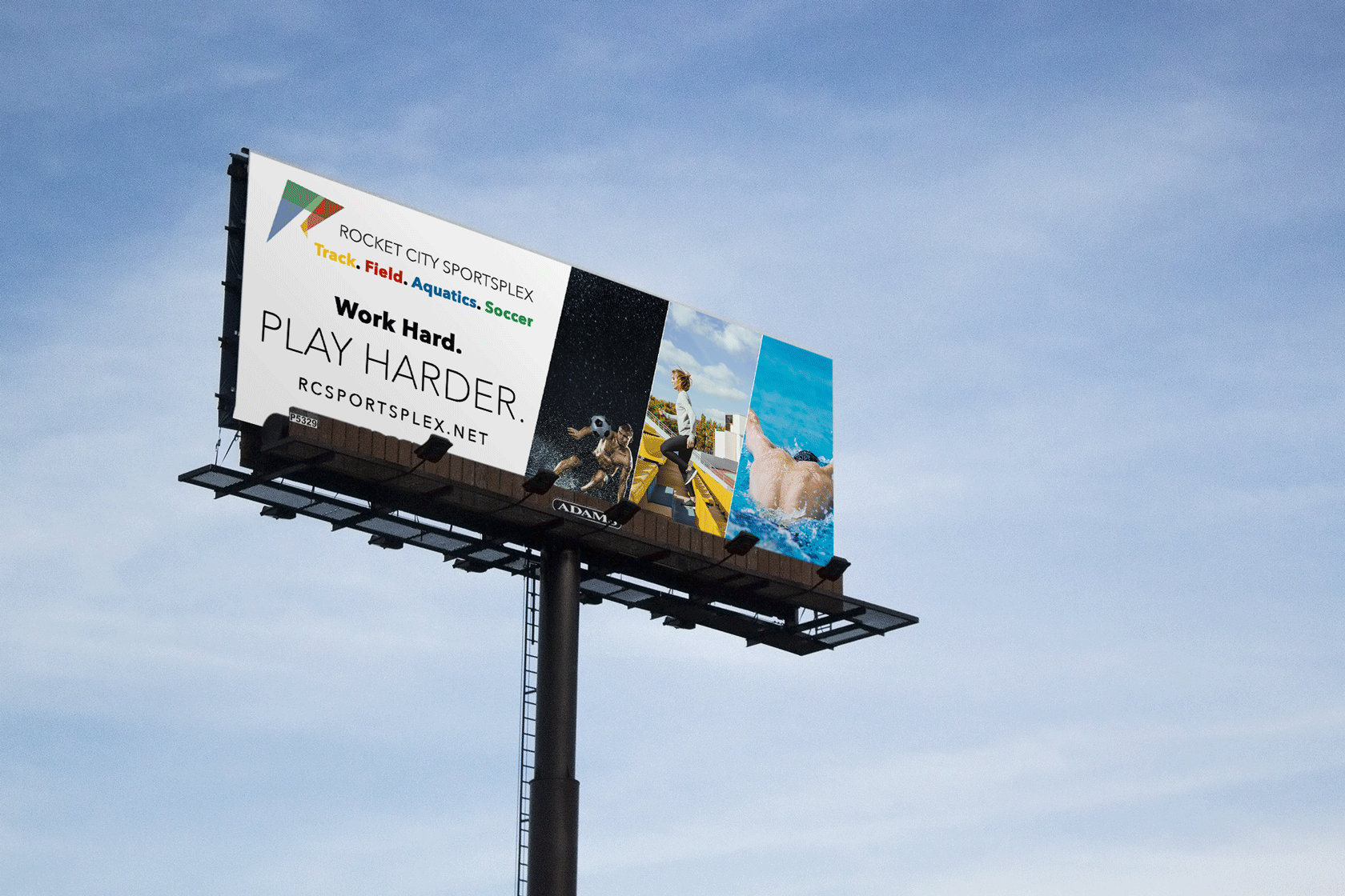 Rocket City Sportsplex Soccer Billboard