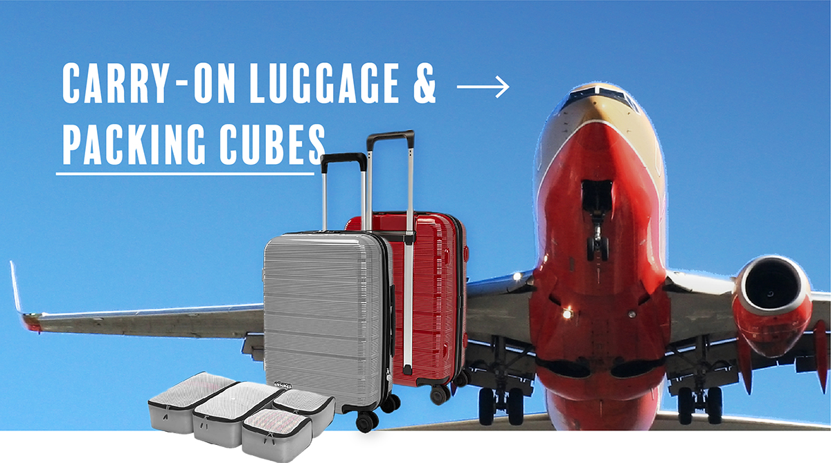 Shop Carry on Luggage and Packing Cubes
